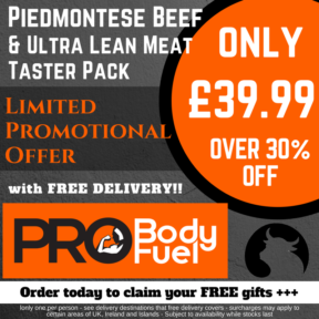 Piedmontese Taster Pack Website Poster