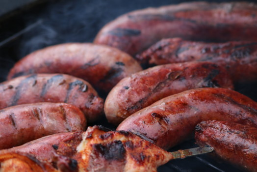 Andouille Cajun Style Sausages