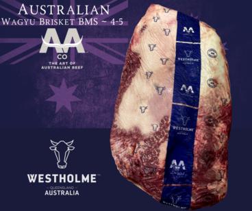 Australian Westholme Wagyu Brisket BMS 4-5
