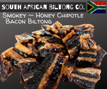 Bacon Biltong Honey Chipotle