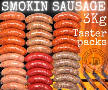 BBQ Sausage Taster Packs