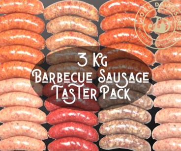 BBQ Sausage Taster Pack