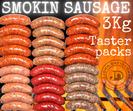 BBQ Sausage Taster Packs