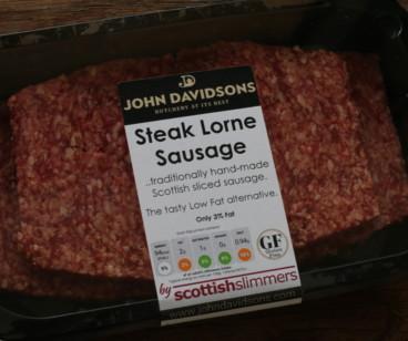 Beef Steak Lorne Sausage