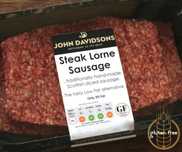 Beef Steak Lorne Sausage