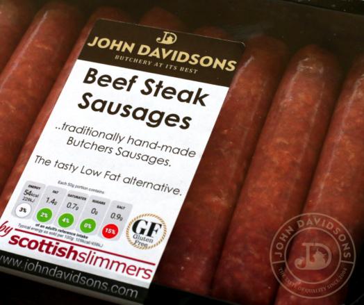 Beef Steak Sausages