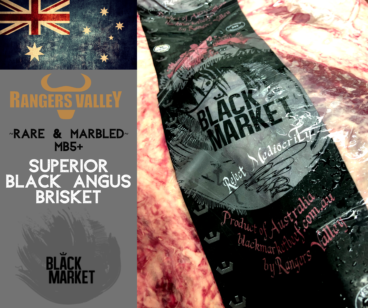 Australian Black Market Brisket
