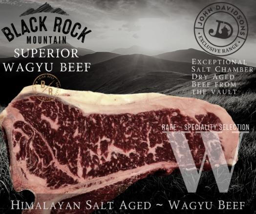 T-Bone Steak Black Rock Mountain Wagyu