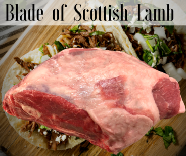 Blade of Lamb Roast