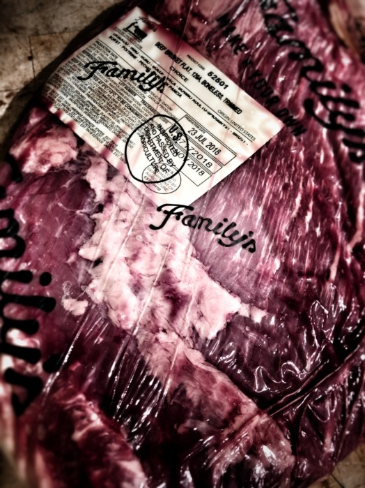 Brisket ~ USDA 'Choice' Grain Fed from Frontier Meats, Texas