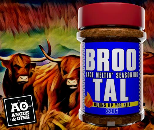 Broo Tal Barbecue Rub