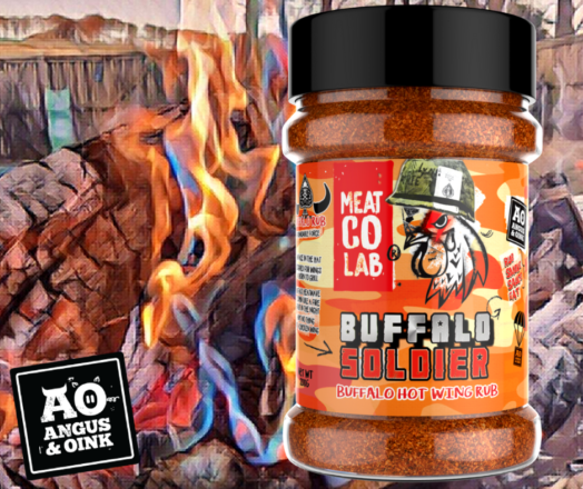 Buffalo Soldier Wing Rub