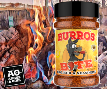 Burros Bite BBQ Rub and Seasoning