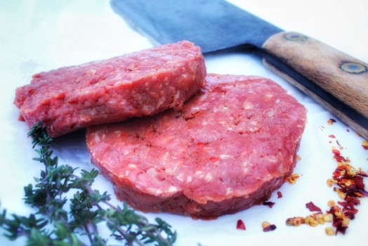 Cajun Piedmontese Steak Burger ~ LOW FAT