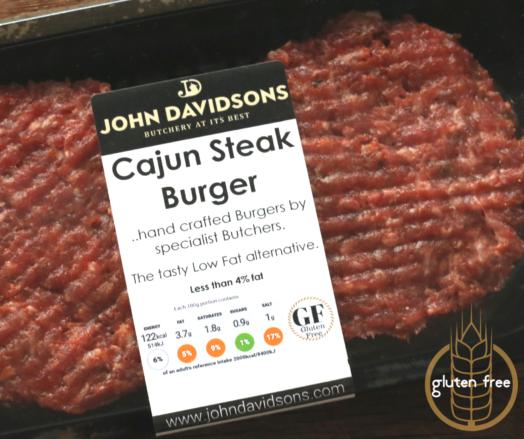 Cajun Steak Burger