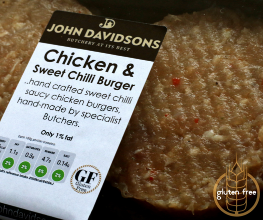 Chicken and Sweet Chilli Burger