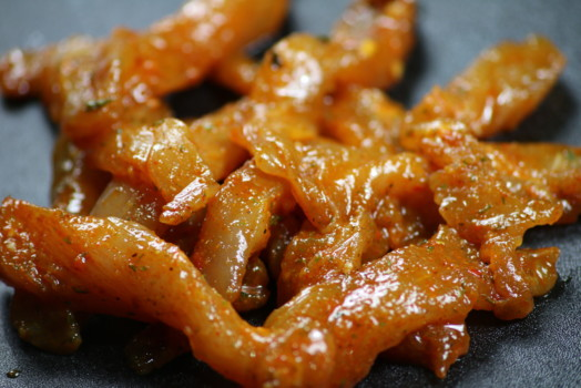 Chicken Strips Honey Chilli - LOW FAT