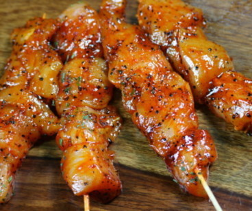 Chicken Kebab South American Alabama BBQ - Low Fat