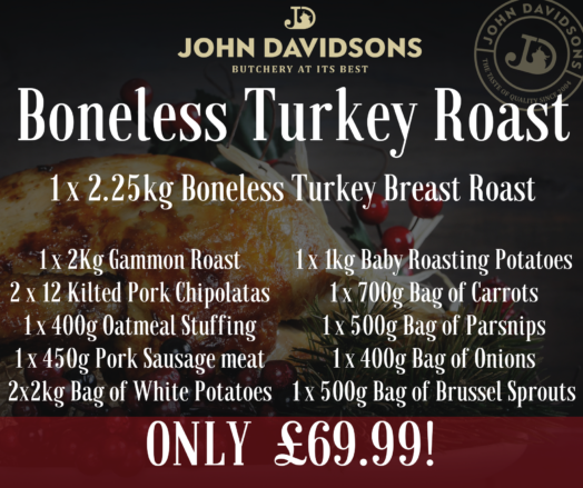 Christmas Hamper 'Boneless Turkey Roast' Meal Deal Special
