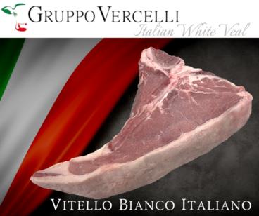 Controfiletto di vitello con osso ~ Italian White Veal T-Bone