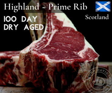 Highland Beef Prime Rib Steak