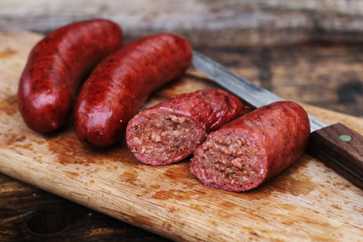 The General ~ Beef Hot-link Sausage