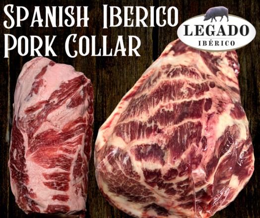 Iberico Pork Collar ~ Legado