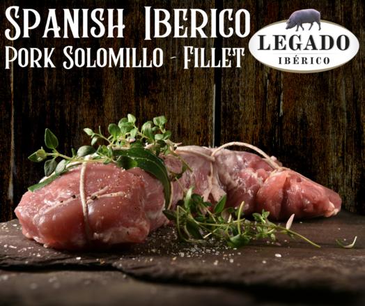 Iberico Pork Solomillo / Fillet