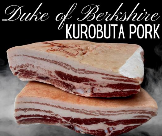 Kurobuta / Duke of Berkshire Pork Belly