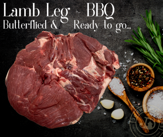 Lamb Leg Butterflied