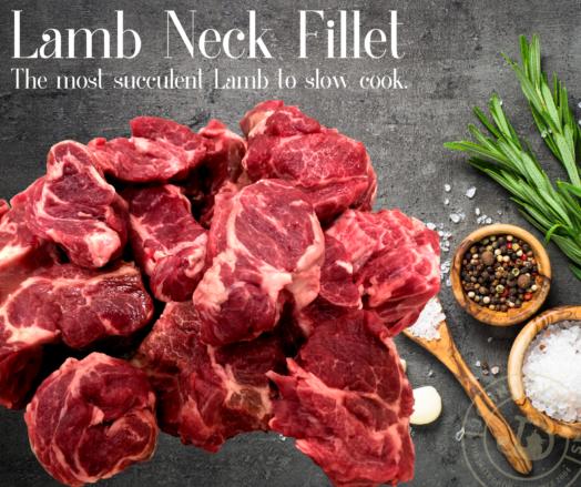 Lamb Neck Fillet Diced