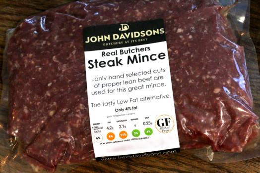 Steak Mince LESS than 5% Fat