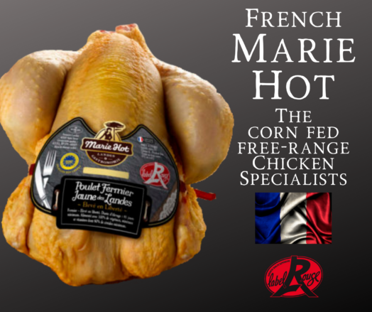 Marie Hot Free-Range Corn Fed Chicken