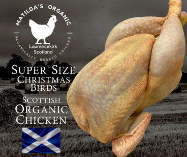 "Matilda's ""Super Size"" Organic Christmas Chicken"