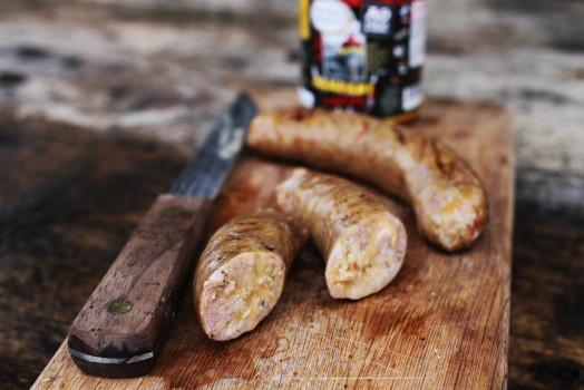 Mr Rubba Rubba ~ Pork, Chicken, Cheese and Jalapeno