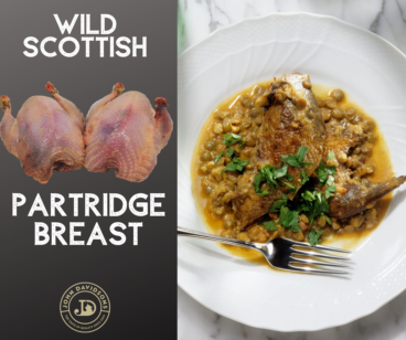 Partridge Breast Fillets