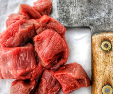Piedmontese Diced Steak ~ LOW FAT
