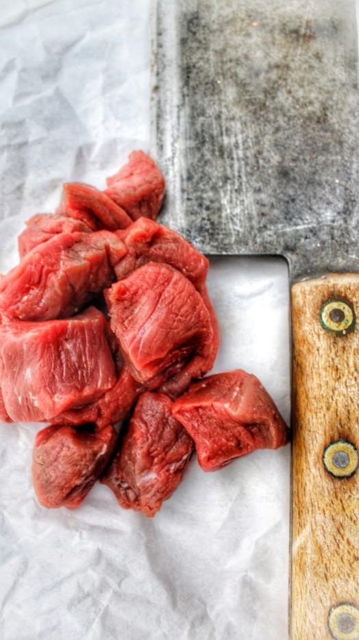Piedmontese Diced Steak ~ LOW FAT