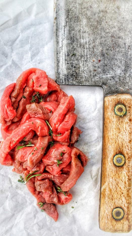 Piedmontese Steak Strips ~ LOW FAT