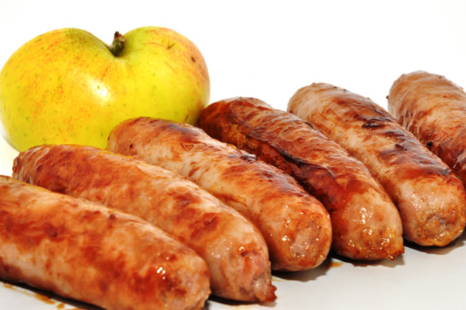 Pork & Apple Sausages