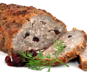 Pork, Cranberry & Spiced Apple Stuffing