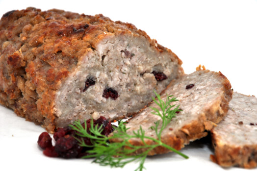 Pork, Festive Spiced Apple & Cranberry Stuffing