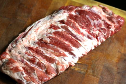 Pork Ribs ~ Euro Rack