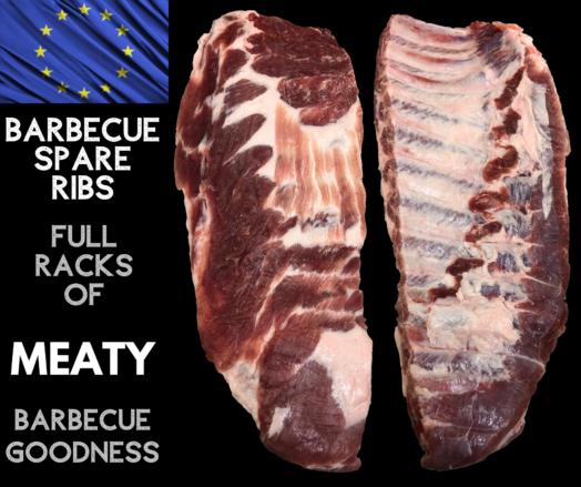 Pork Ribs ~ Meaty Spare Ribs
