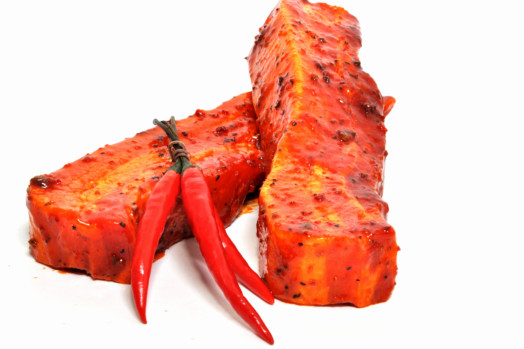 Pork Spare Ribs, Red Chilli