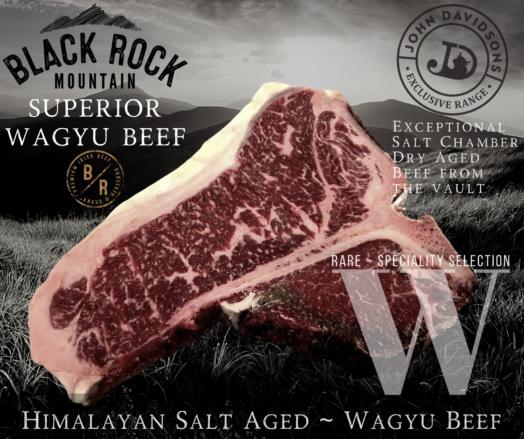 Porterhouse Steak Black Rock Mountain Wagyu