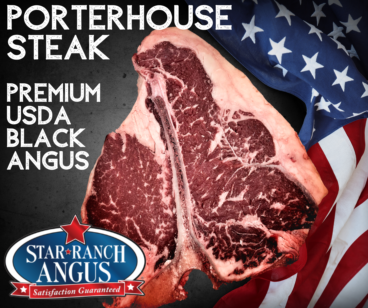 Porterhouse Steak Star Ranch USDA