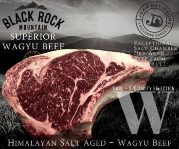 Prime Rib Steak Black Rock Mountain Wagyu