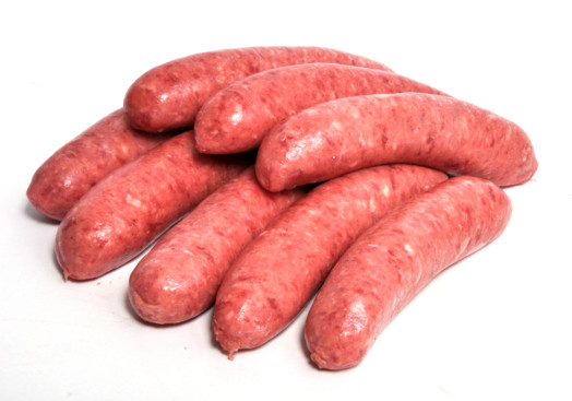 Reduced Fat Beef Sausages ~ LOW FAT