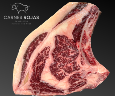 Rib Steak Chuleton Galician Carnes Rojas